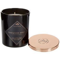 10 oz. Teakwood Amber Jar Candle