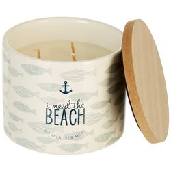 Aromart 11 oz. I Need The Beach Jar Candle