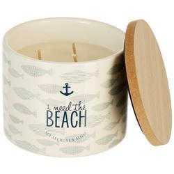 11 oz. I Need The Beach Jar Candle