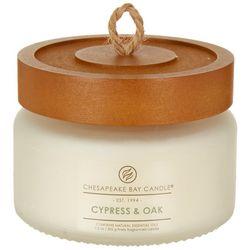 Chesapeake Bay Candle 7 oz. Cypress Oak Jar Candle