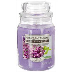 Yankee Candle 19 oz. Sweet Lilac Jar Candle