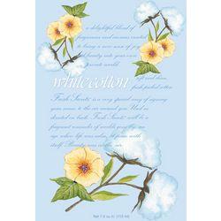 WillowBrook White Cotton Sachet