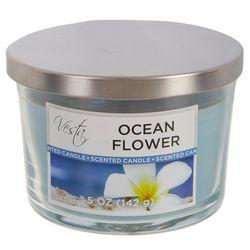 Vesta 5 oz. Ocean Flowers Jar Candle