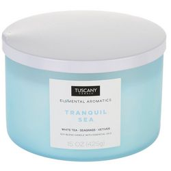 Tuscany 15 oz. Tranquil Sea Soy Blend Jar Candle
