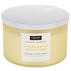 Tuscany 15 oz. Springwater Reflection Soy Blend Jar Candle