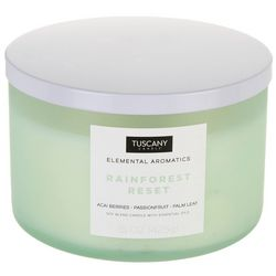 Tuscany 15 oz. Rainforest Reset Soy Blend Jar Candle