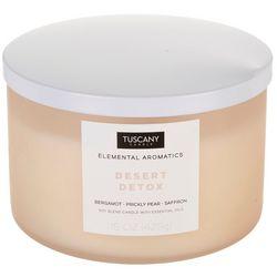 Tuscany 15 oz. Desert Detox Soy Blend Jar Candle