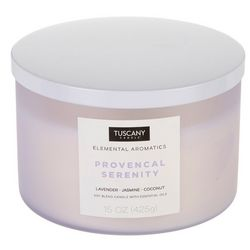 Tuscany 15 oz. Provencal Serenity Soy Blend Jar Candle
