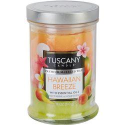 Tuscany 18 oz. Hawaiian Breeze Jar Candle