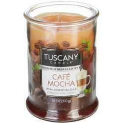 Tuscany 18 oz. Cafe Mocha Jar Candle