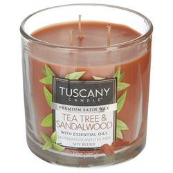14 oz. Tea Tree & Sandalwood Soy Blend Jar Candle