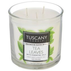 Tuscany 14 oz. Tea Leaves Soy Blend Jar Candle