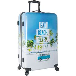 Wembley 28'' Live It Up Beach Hardside Spinner Luggage