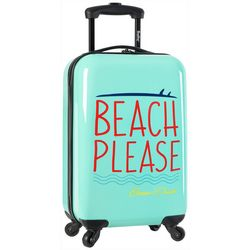 20'' Live It Up Beach Please Spinner Luggage