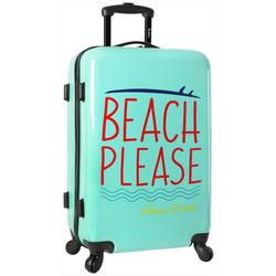24'' Live It Up Beach Please Spinner Luggage