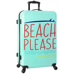 Wembley 28'' Live It Up Beach Please Spinner Luggage