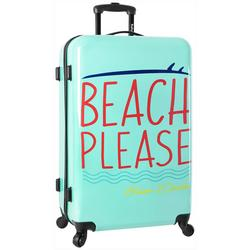 28'' Live It Up Beach Please Spinner Luggage
