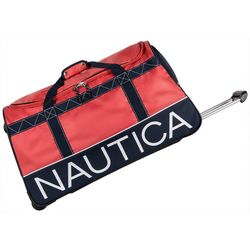 Nautica 30'' Dockside Wheeled Duffel Bag