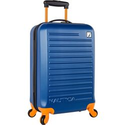 Nautica 21'' Tide Beach Blue Hardside Spinner Luggage