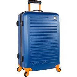 Nautica 25'' Tide Beach Blue Hardside Spinner Luggage