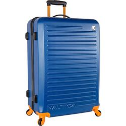 Nautica 28'' Tide Beach Blue Hardside Spinner Luggage