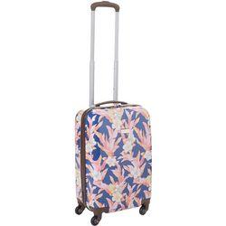 20'' Michelada Hawaiin Floral Spinner Luggage