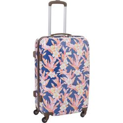 24'' Michelada Hawaiin Floral Spinner Luggage
