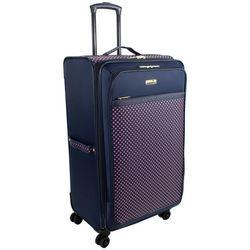 Isaac Mizrahi 28'' Soho Dot Spinner Luggage