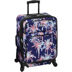 Leisure Luggage 21'' Lafayette Navy Palm Spinner Luggage