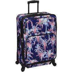 Leisure Luggage 25'' Lafayette Navy Palm Spinner Luggage