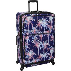 Leisure Luggage 29'' Lafayette Navy Palm Spinner Luggage