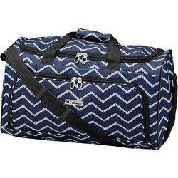 Leisure Luggage 20'' Lafayette Navy Rope Duffel Bag