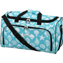 Leisure Luggage 20'' Lafayette Azure Shells Duffel Bag