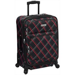 Leisure Luggage 21'' Lafayette Red Diamond Spinner Luggage