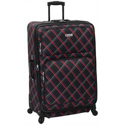 Leisure Luggage 29'' Lafayette Red Diamond Spinner Luggage