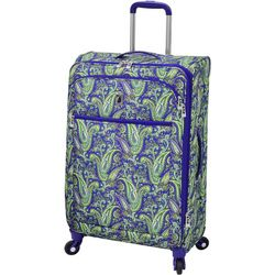 London Fog 25'' Mayfair Purple Paisley Spinner Luggage