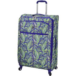 London Fog 29'' Mayfair Purple Paisley Spinner Luggage