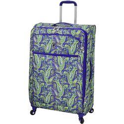 29'' Mayfair Purple Paisley Spinner Luggage
