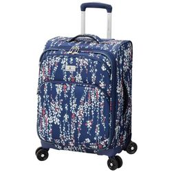 London Fog 20'' Cranford Floral Expandable Spinner Luggage