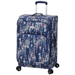 London Fog 25'' Cranford Floral Expandable Spinner Luggage