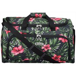 Leisure Luggage 20'' Lafayette Hibiscus Palm Duffel Bag