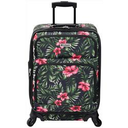 21'' Lafayette Hibiscus Palm Spinner Luggage