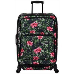 Leisure Luggage 25'' Lafayette Hibiscus Palm Spinner Luggage