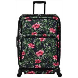 25'' Lafayette Hibiscus Palm Spinner Luggage