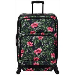 Leisure Luggage 29'' Lafayette Hibiscus Palm Spinner Luggage