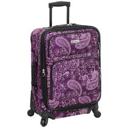 Leisure Luggage 21'' Lafayette Purple Paisley Luggage