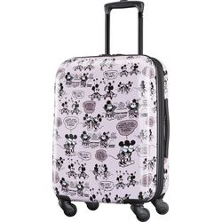 Disney Mickey and Minnie Kiss 21'' Hardside Luggage