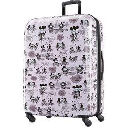 Disney Mickey and Minnie Kiss 28'' Hardside Luggage