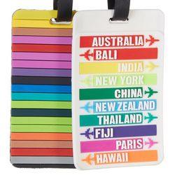 Travelon 2-pc. Destination Luggage Tags