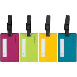 Travelon 4-pc. Solid Luggage Tags
